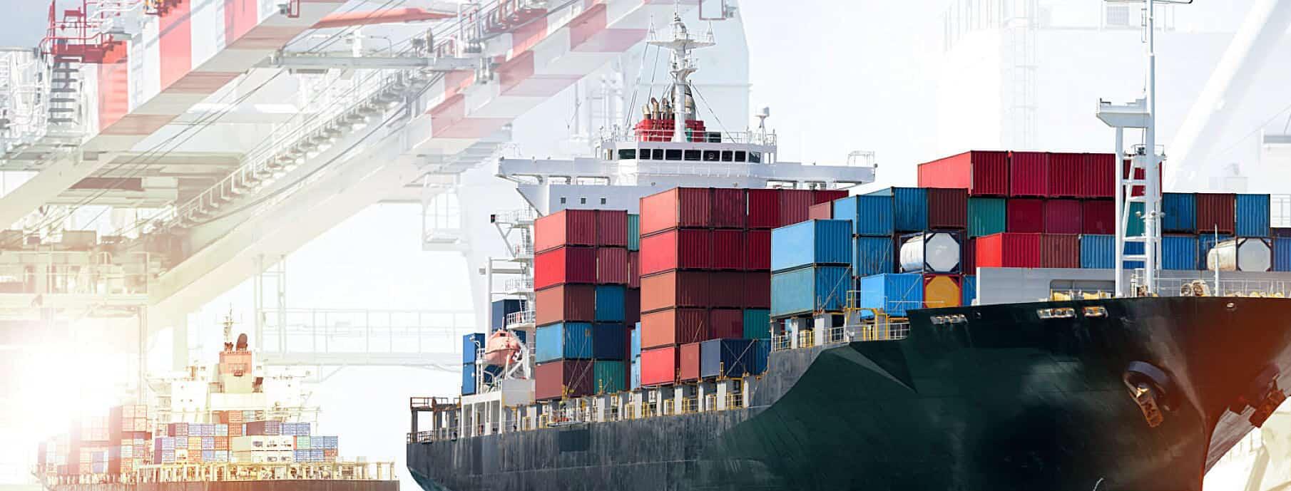 cargo ship on dock