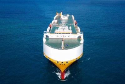 大型ロロ船クルージング